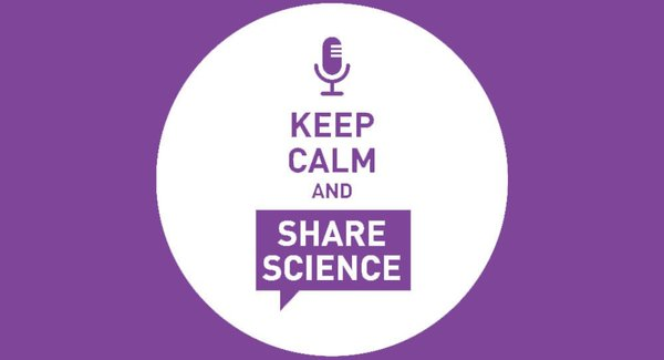 Lg famelab france keep calm share science fond